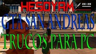 GTA San Andreas Trucos Para PC