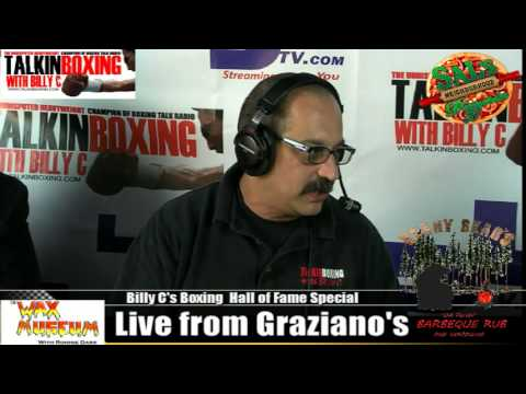 Hurricane Sammy Valentin Interview at the Boxing Hall of Fame 6/7/14