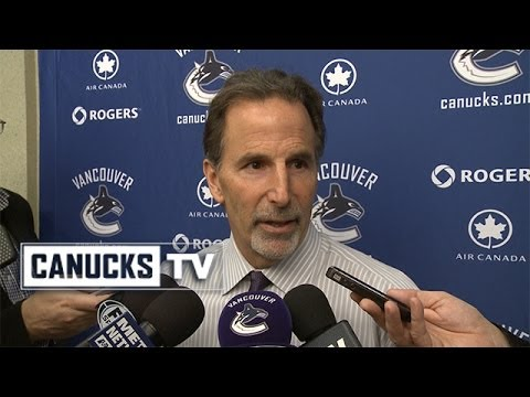John Tortorella on 9-1 loss in Anaheim (Jan. 15, 2014)