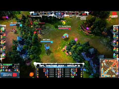 [GPL 2014 Mùa Đông] [Tie - Breakers] Bangkok Titans vs Saigon Fantastic Five [04.12.2013]