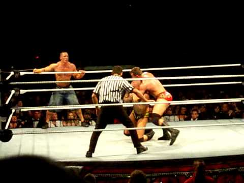 John Cena and Randy Orton vs. Sheamus and Ted DiBiase 3/3