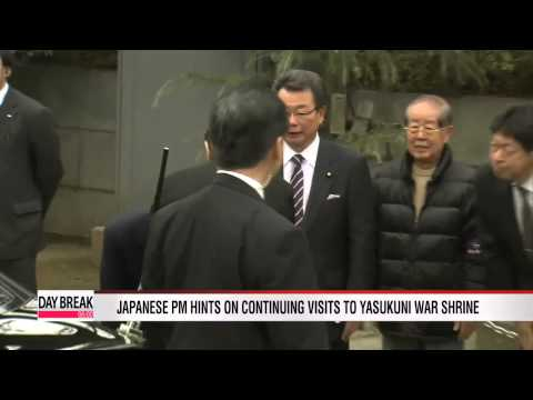 Japanese PM hints on continuing visits to Yasukuni war shrine