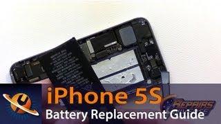 iPhone 5S pil değiştirme kılavuzu