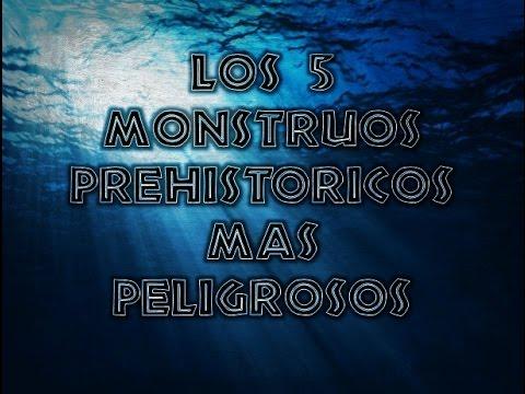 Top 5 | Monstruos Marinos Prehistóricos