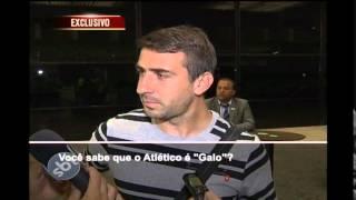 Pratto chega a Belo Horizonte e destaca: