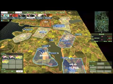 Wargame Red Dragon 1v1 on Apocalyse Immenient using U.S. Marine Deck