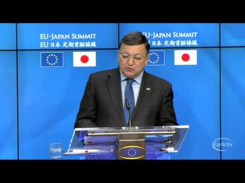 EU, Japan warn Russia not to deepen Ukraine crisis