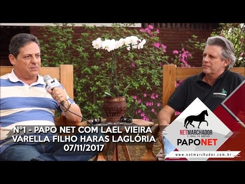 #1 - PAPO NET - Bate-papo com Lael Vieira Varella Filho HARAS LAGLÓRIA e Fernando Mello Vianna