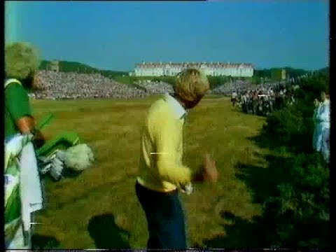 Jack Nicklaus v Tom Watson The Open Turnberry 1977