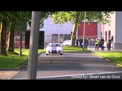 Harry Kleinjan Massive Crash @ 2013 Hellendoorn Rally