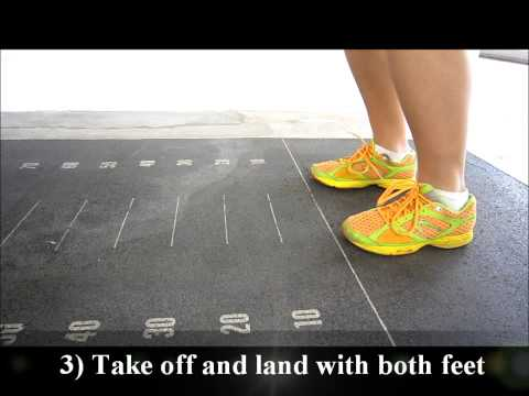 how to standing broad jump