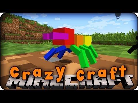 Hình ảnh trong video Minecraft Mods - CRAZY CRAFT - Ep # 1 'I'M A