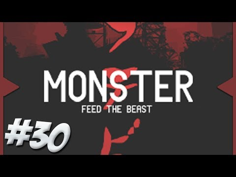 FTB Monster - Episode 30 - Pillars of Diamond & Mass Ore Processing!