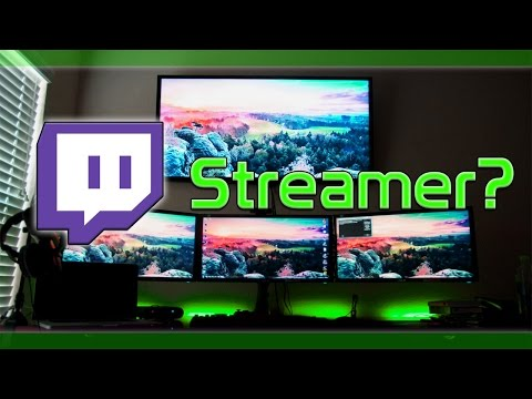 how to start livestreaming on twitch tv