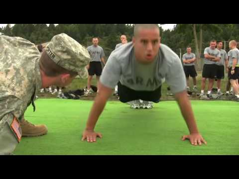 1st Reg't Army Physical Fitness Test