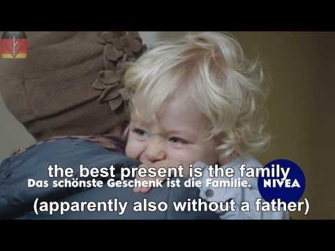 Misandry in Germany 3 - Xmas Ad + english subtitles (mgtow)