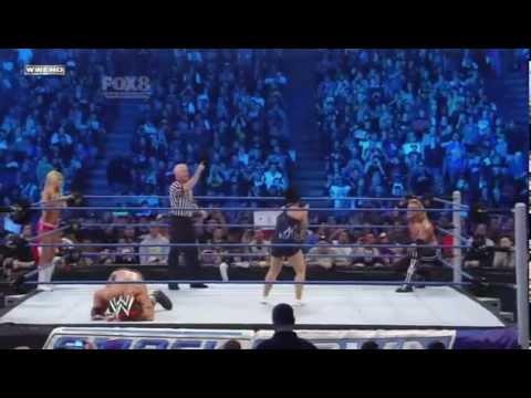 WWE SmackDown Edge Kelly Kelly vs Vickie Guerrero Drew McIntyre