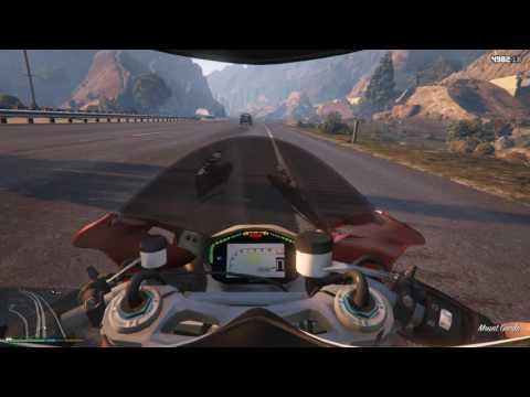 Dạo Phố Cùng Siêu MôTô Ducati 1199 | Siêu Xe Trong GTA V Tập 23 | ThanhTrungGM