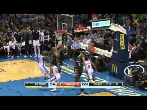 New Orleans Pelicans vs Oklahoma City Thunder | April 11, 2014 | NBA 2013-14 Season