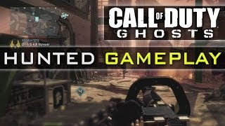 CoD Ghosts HUNTED Gameplay - New Game Mode - Hunter