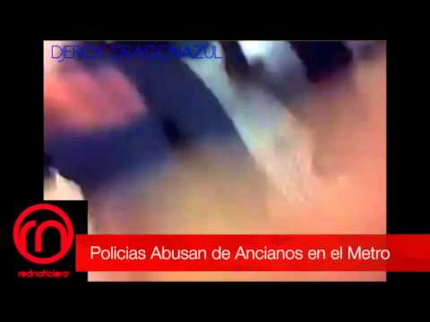 POLICIAS PREPOTENTE,ABUSAN DE ANCIANOS.