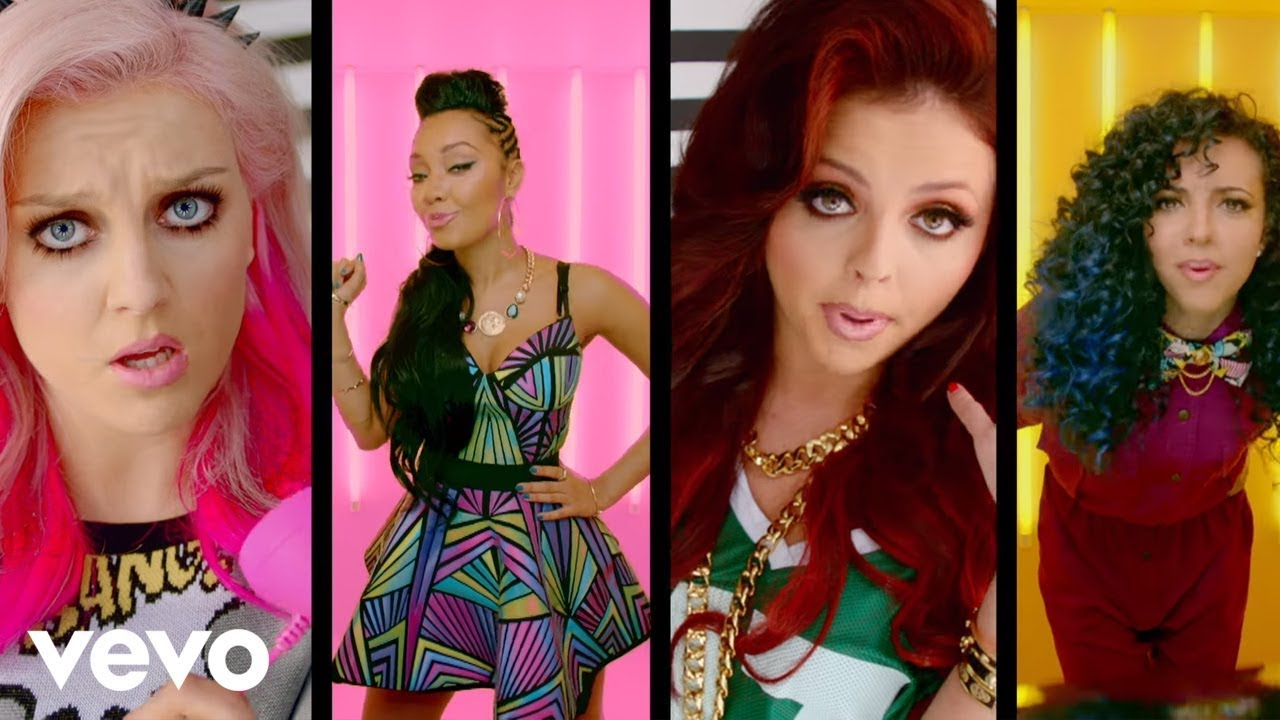 Little Mix ft. Missy Elliott - How Ya Doin'? (Official Video)