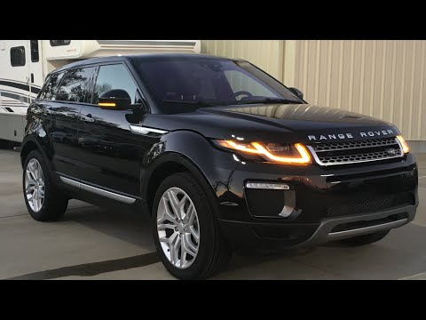 2016 Range Rover Evoque Full Review, Start Up, Exhaust