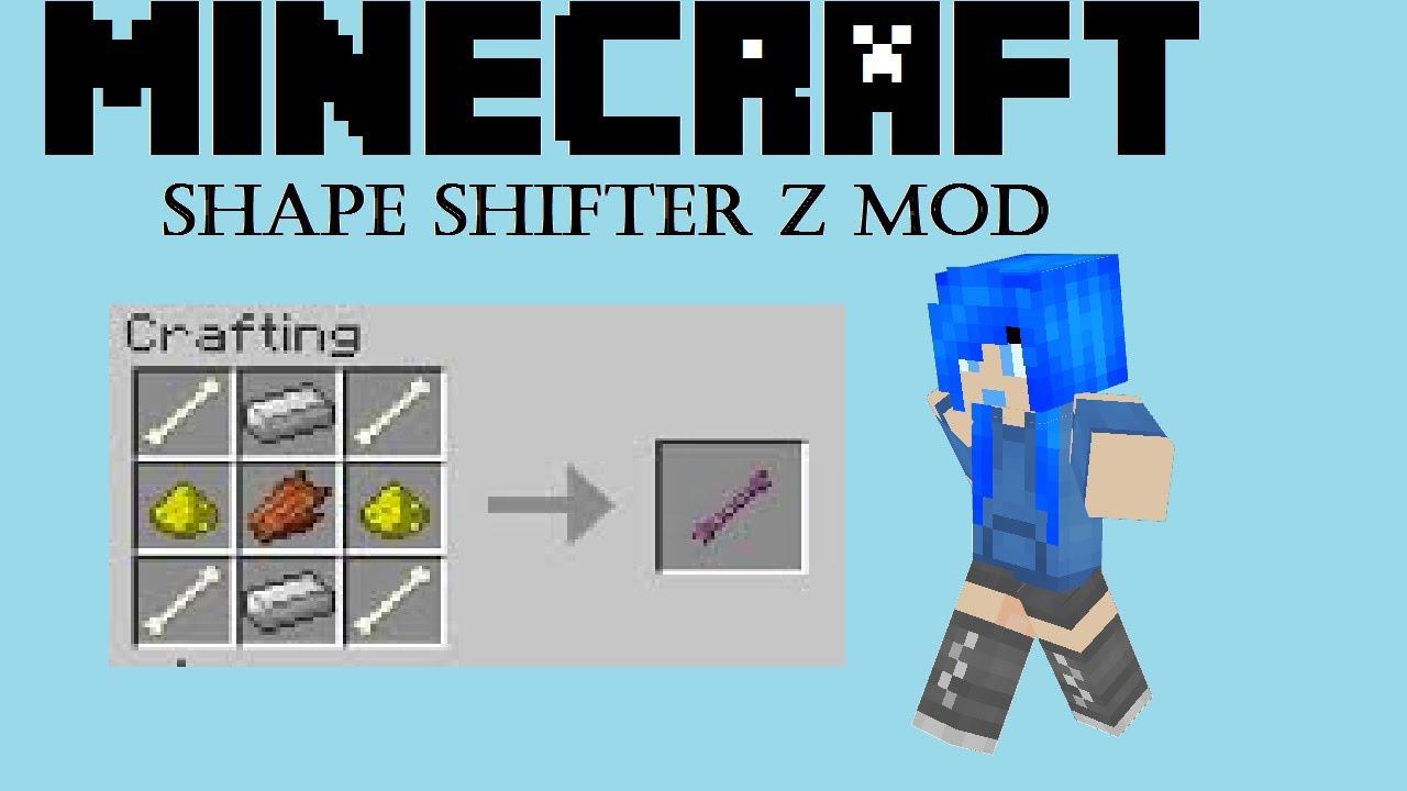 скачать мод shape shifter для майнкрафт 1.7.10 #4