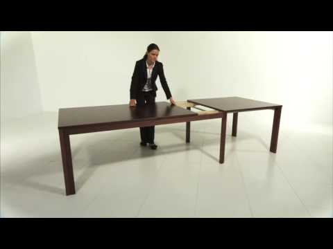 Skovby SM24 Extending Dining Table - Seats 8-20 people