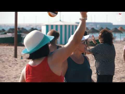 El Programa Activitat Física i Salut es trasllada a la platja