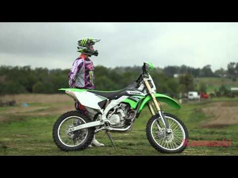 Kawasaki KLX450R - Monster Energy Kawasaki Pro Rider Impressions