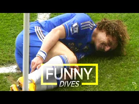 Funny Football Dives & Simulation