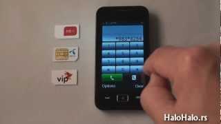 Telenor Touch Start dekodiranje pomoću koda