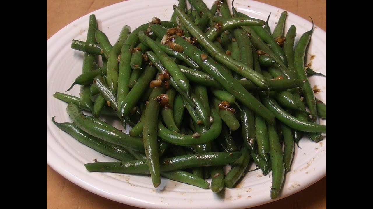 Chinese Style Green Beans - YouTube