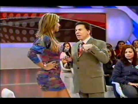 Silvio Santos pegador