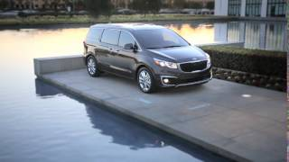 Kia Carnival Sedona at New York International Auto Show