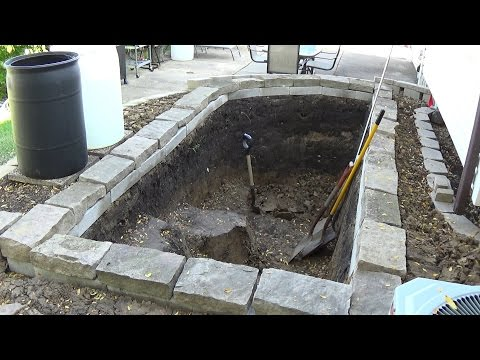 Building a New Garden Koi Pond - Backyard Fish Pond Documentary