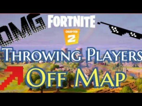 Throwing Players Off The Map Like A Pro... Fortnite Battle Royale FUNNY MOMENTS