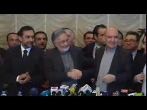 Karzai's Brother Withdraws from Election, Backs Ex-Minister Zalmai Rasoul