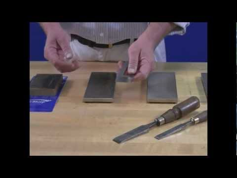 Video of DMT® Plane Iron and Chisels Part 1 - Flattening Back