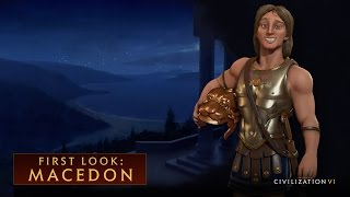 Sid Meier's Civilization VI - Macedon