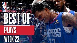NBA's Best Plays | Week 22
