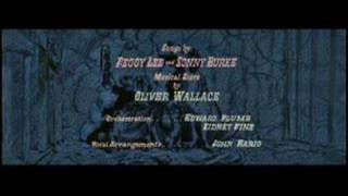 Lady And The Tramp-Opening Title Bella Note- (Spanish 1997