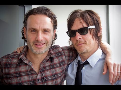 Andrew Lincoln & Norman Reedus talk about 'The Walking Dead' (Part 2)