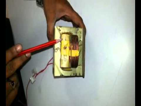 How to Dis-Assemble a Transformer of MicroWave Oven