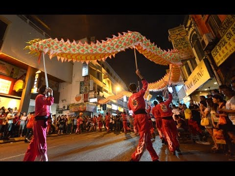 Petaling Street Lunar Year Festival - 茨厂街 • 年味节 2014 (8) 飞腾跳跃