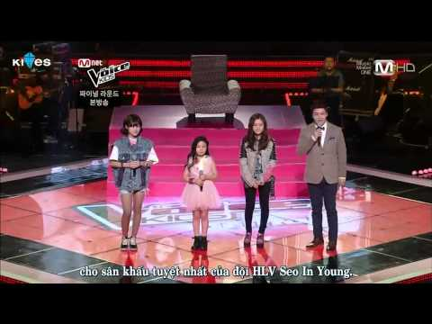 [Vietsub] The Voice Kids Ep 5 (End) Part 2/9