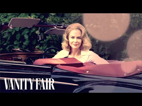 Nicole Kidman Graces the Cover of Vanity Fair's December 2013 Issue