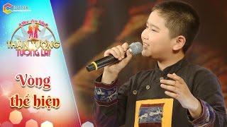 Thần tượng tương lai   tập 8: Mưa bay tháp cổ -  bé Quang Diễn