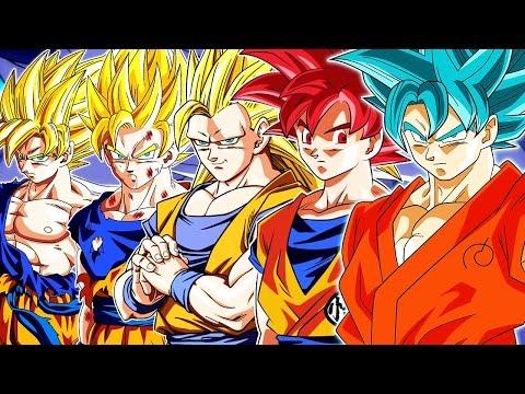The Evolution of Son Goku